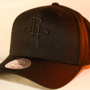 Mitchell & Ness OSFA Houston Rockets NBA Black Snapback