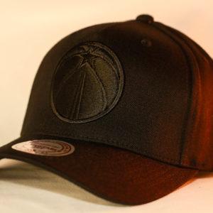 Mitchell & Ness OSFA Washington Wizards NBA Black Snapback