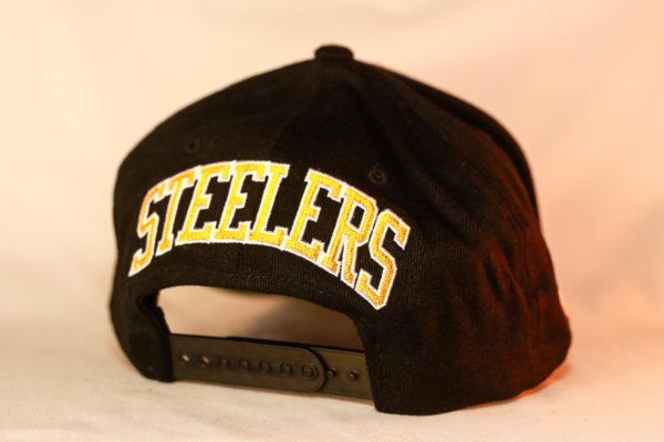 Mitchell & Ness OSFA NBA Pittsburgh Steelers Black Flexfit 110 Snapback