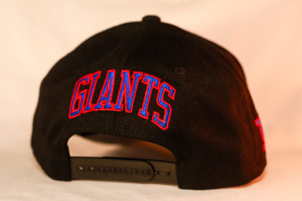 Mitchell & Ness OSFA NBA New York Giants Black Flexfit 110 Snapback