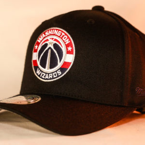 Mitchell & Ness OSFA NBA Washington Wizards Black Flexfit 110 Snapback
