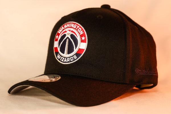 Mitchell & Ness OSFA NBA Washington Wizards Black Flexfit 110 Snapback