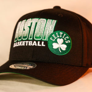 Mitchell & Ness OSFA NBA Boston Celtics Black Flexfit 110 Score Keeper Snapback