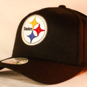 Mitchell & Ness OSFA Pittsburgh Steelers NFL Black Flexfit 110 Snapback