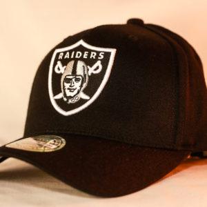 8436269220b Mitchell   Ness Flexfit 110 Throwback NFL Oakland Raiders Team ...