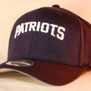 Mitchell & Ness OSFA NFL New England Patriots Blue Flexfit 110 Courtside 2 Snapback