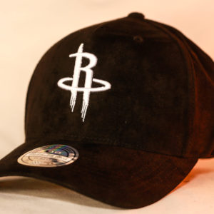 Mitchell & Ness OSFA NBA Houston Rockets Black Classic Flexfit 110 Snapback