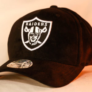 Mitchell & Ness OSFA NFL Oakland Raiders Black Classic Flexfit 110 Snapback