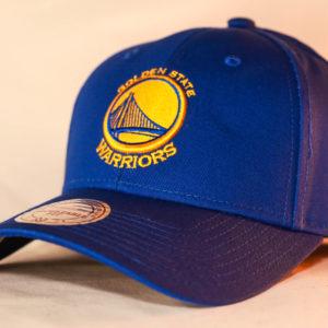 Mitchell & Ness OSFA NBA Golden State Warriors Royal Blue Flexfit 110 Core Low Pro Snapback