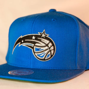 Mitchell & Ness OSFA Orlando Magic NBA Blue Wool Solid Snapback