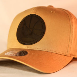 Mitchell & Ness OSFA Golden State Warriors NBA Hot Stamp Logo Snapback