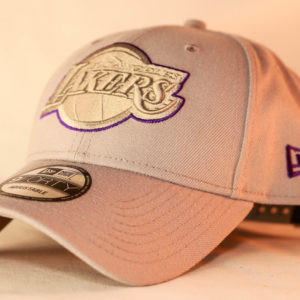 New Era 9Forty OSFA NBA Los Angeles Lakers Grey 940 A-Frame Snapback
