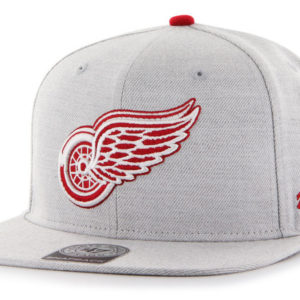 '47 Detroit Red Wings NHL Boreland CAPTAIN Grey Snapback Mens Womens