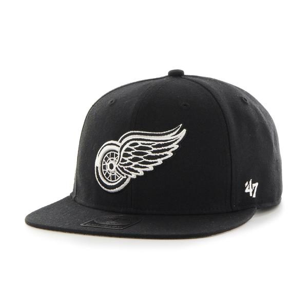 '47 Detroit Red Wings NHL Boreland Captain Snapback Mens Womens