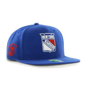 '47 MEW York Rangers NHL Sure Shot CAPTAIN Snapback Mens Womens