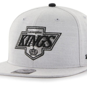 '47 LA Kings NHL Boreland Captain Grey Snapback Mens Womens