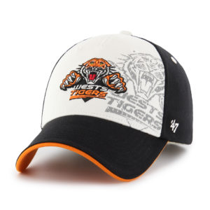 '47 West Tigers NRL Kids Albie MVP Velcro Adjustable Cap