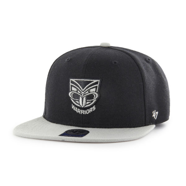 '47 New Zealand Warriors NRL Kids Lil Shot Two Tone '47 Captain Flat Brim Snapback
