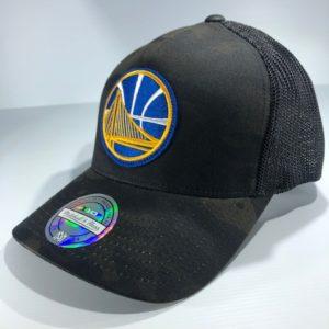 Mitchell & Ness Flexfit 110 NBA Golden State Warriors Multicam Camo Snapback OSFA