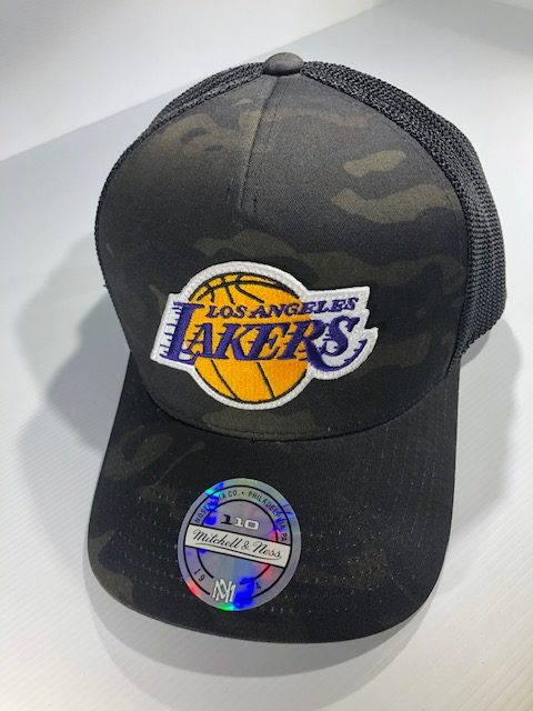 Mitchell & Ness Flexfit 110 NBA LA Lakers Multicam Camo Snapback OSFA