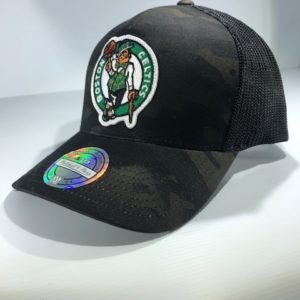 Mitchell & Ness Flexfit 110 NBA Boston Celtics Multicam Camo Snapback OSFA