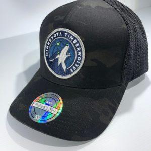 Mitchell & Ness Flexfit 110 NBA Minnesota Timberwolves Multicam Camo Snapback OSFA