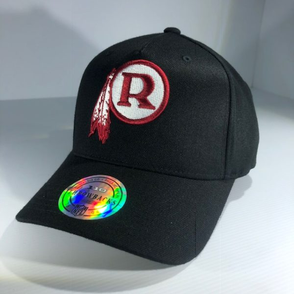 Mitchell & Ness Flexfit 110 NFL Washington Redskins Throwback Black/Team Colour Logo Snapback OSFA