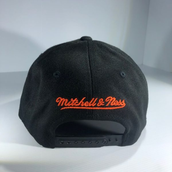 Mitchell & Ness Flexfit 110 NFL Miami Dolphins Throwback Black/Team Colour Logo Snapback OSFA