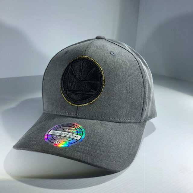 timeless design 7b797 c5343 Mitchell   Ness Flexfit 110 NBA Golden State Warriors Washed Denim Snapback  OSFA