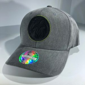 Mitchell & Ness Flexfit 110 NBA Minnesota Timberwolves Washed Denim Snapback OSFA